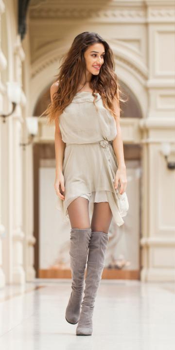 natürliches Kleid